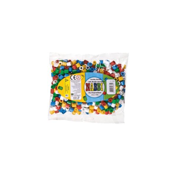 Nabbi® Jumbo Beads -Bügelperle Ø 10mm, 600 Stk., Standard Mix