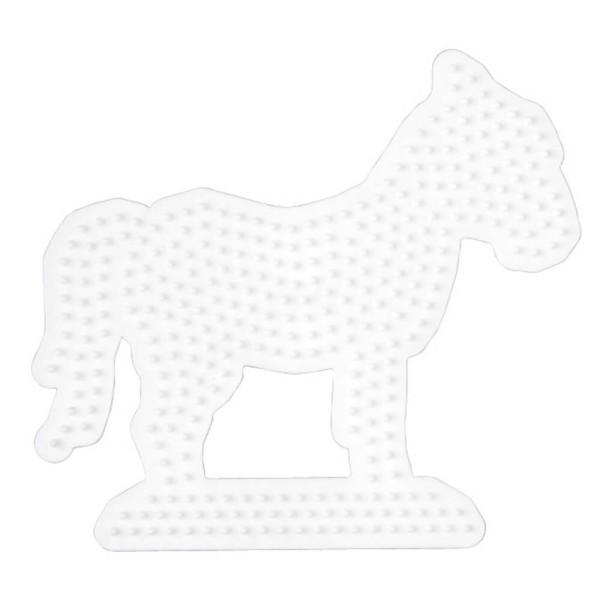 Hama Stiftplatte Pferd weiß