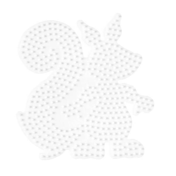 Hama Stiftplatte Eichhörnchen weiß