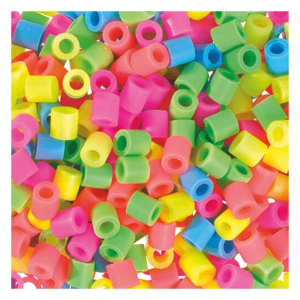 Nabbi® Jumbo Beads -Bügelperle Ø 10mm, 600 Stk., Pastell Mix
