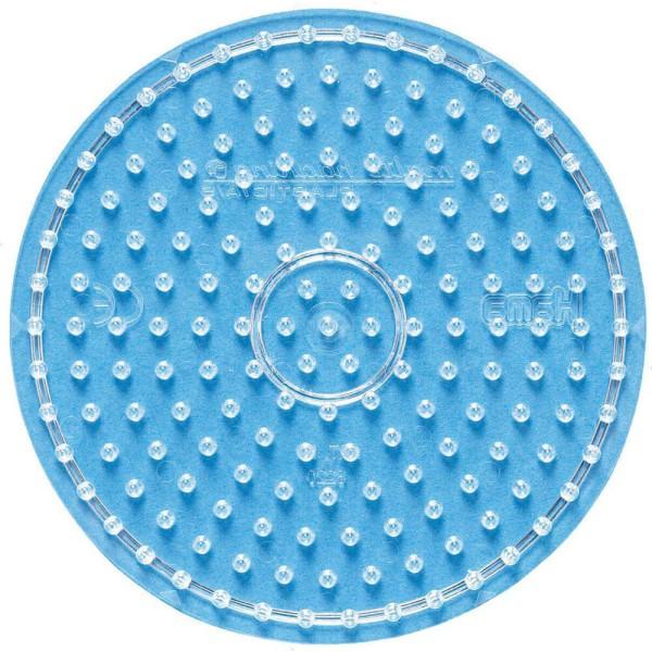 Hama Stiftplatte Kreis transparent für Maxi-Bügelperlen