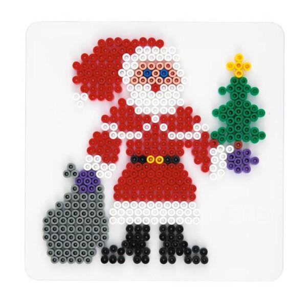 Hama Stiftplatte Weihnachtsmann weiß