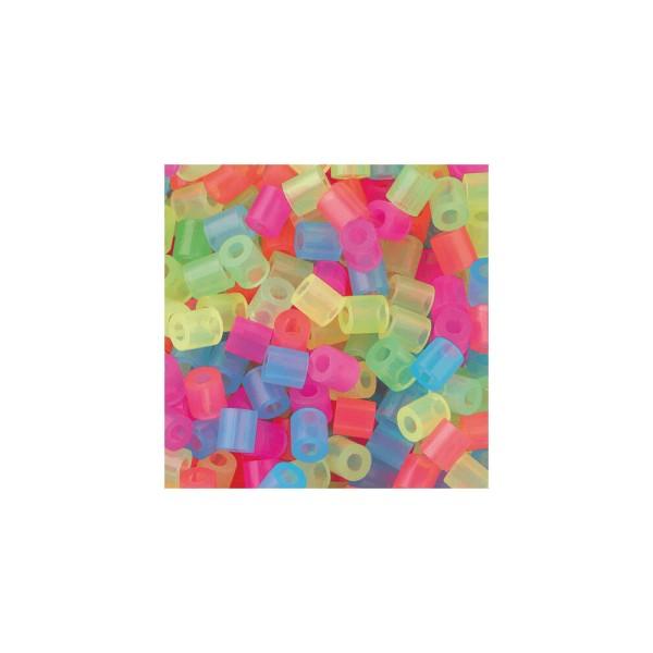 Nabbi® Bügelperlen Ø 5mm, 20.000 Stk., Neon Mix