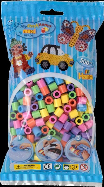 Hama Maxi-Perlen, pastell