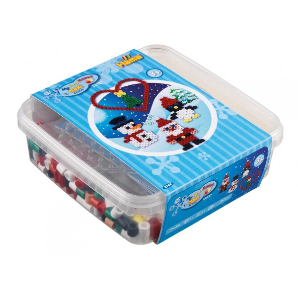 "Hama Maxi-Perlen, Box ""Weihnachten"""