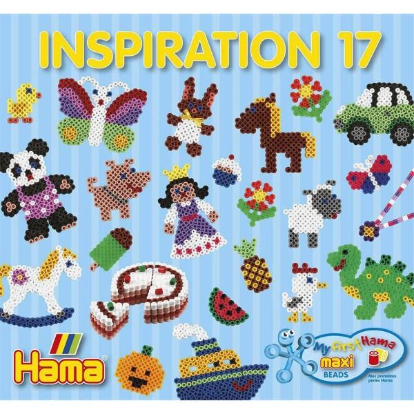 Hama Inspirationsheft 17 für Maxi Bügelperlen