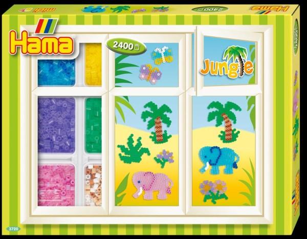Hama Bügelperlen Kreativbox Dschungel