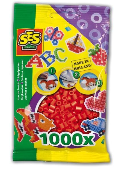 SES Creative Bügelperlen 1000 rot