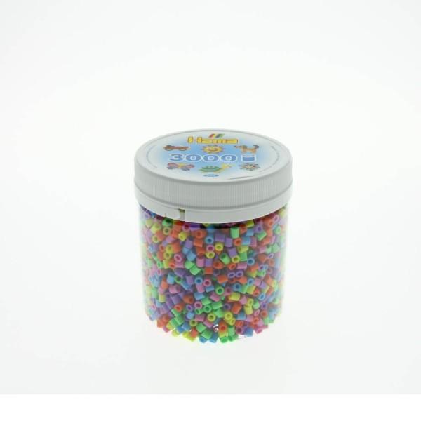 Hama Dose mit 3000 Bügelperlen Pastell