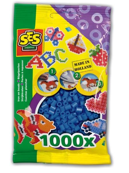 SES Creative Bügelperlen 1000 dunkelblau