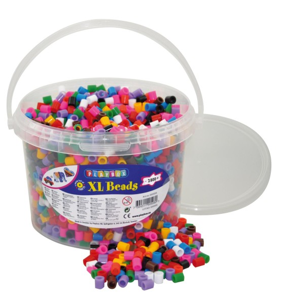 Playbox XL-Bügelperlen 2800 im Eimer