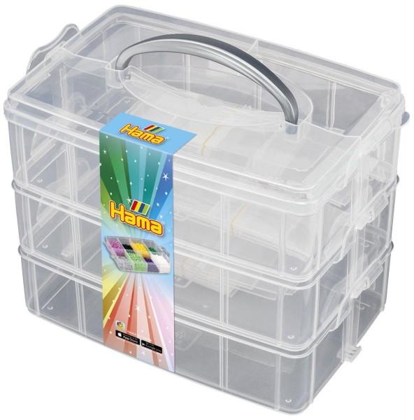 Hama Große, leere Aufbewahrungsbox für Bügelperlen