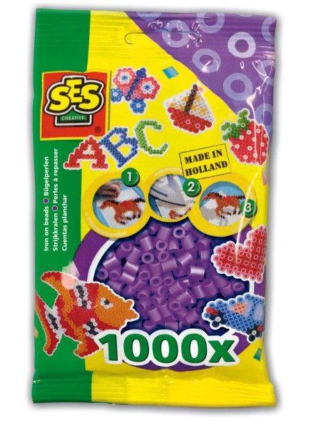 SES Creative Bügelperlen 1000 violett