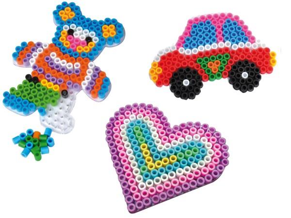 Playbox Stiftplatten-Set Spielzeug transparent für XL-Perlen