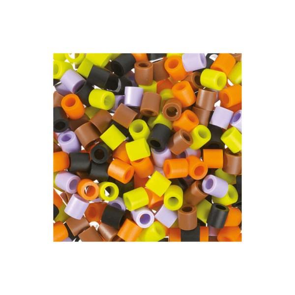 Nabbi® Jumbo Beads -Bügelperle Ø 10mm, 600 Stk., Herbst Mix