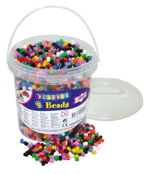 Playbox Dose 5000 Stück Midi Perlen