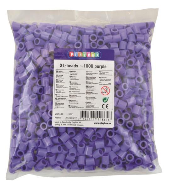 Playbox XL-Perlen 1000 Stück lila