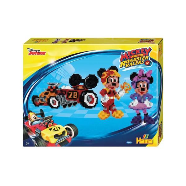 Hama Bügelperlen Mickey Racers 4000 Bügelperlen mit 2x Stiftplatten