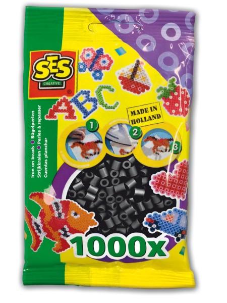 SES Creative Bügelperlen 1000 schwarz