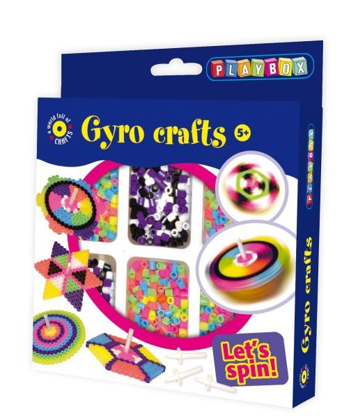 Playbox Bügelperlenset Kreisel