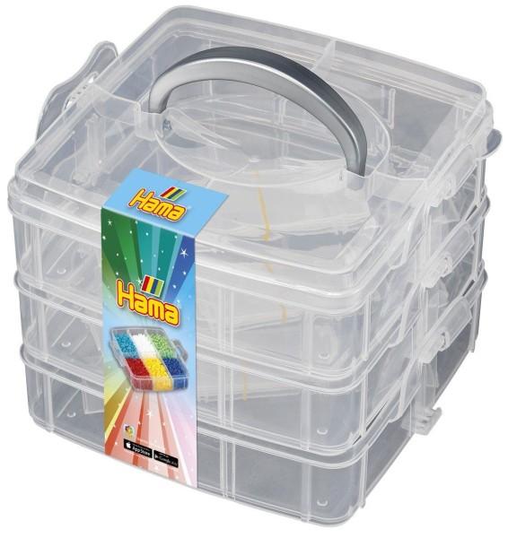 Hama Kleine, leere Aufbewahrungsbox für Bügelperlen